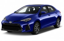 2017 Toyota Corolla XSE CVT Automatic (Natl) Angular Front Exterior View