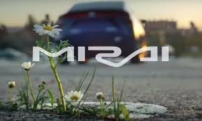 2017 Toyota Mirai Super Bowl ad 'Daisy' screenshot
