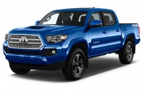 2017 Toyota Tacoma TRD Sport Double Cab 5' Bed V6 4x4 AT (Natl) Angular Front Exterior View