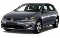 2017 Volkswagen e-Golf 4-Door SE Angular Front Exterior View