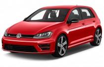 2017 Volkswagen Golf R 4-Door Manual Angular Front Exterior View