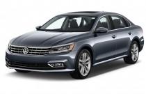 2017 Volkswagen Passat V6 SEL Premium DSG Angular Front Exterior View