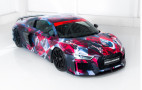 Abt Sportsline readies Audi R8 art car for 2018 Wörthersee Tour