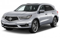 2018 Acura MDX SH-AWD w/Advance Pkg Angular Front Exterior View