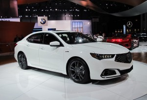 2018 Acura TLX A-Spec, 2017 New York auto show