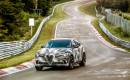 2018 Alfa Romeo Stelvio Quadrifoglio at the Nürburgring