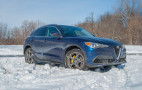 7 things you need to know about driving the 2018 Alfa Romeo Stelvio in the snow
