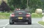 2018 Aston Martin Vanquish S Volante spy video