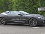 2018 Aston Martin Vanquish Zagato Speedster spy shots - Image via S. Baldauf/SB-Medien