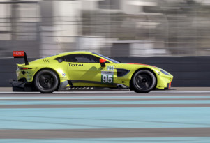 2018 Aston Martin Vantage GTE race car