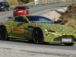 2019 Aston Martin Vantage spy shots - Image via S. Baldauf/SB-Medien