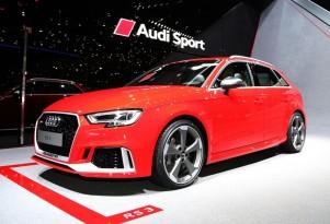 2018 Audi RS 3 Sportback, 2017 Geneva auto show