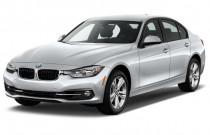 2018 BMW 3-Series 330i Sedan Angular Front Exterior View