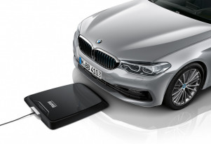 "BMW 530e will be first ""plug-in"" car with wireless charging this summer"
