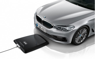 BMW's new wireless charging pad turns electrified cars into cellphones