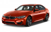 2018 BMW M3 Sedan Angular Front Exterior View