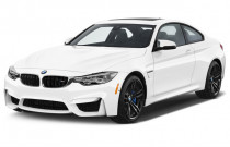 2018 BMW M4 Coupe Angular Front Exterior View