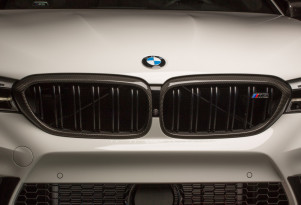 2018 BMW M5 equipped with BMW M Performance Parts