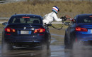 2018 BMW M5 refueling during longest continuous vehicle drift attempt