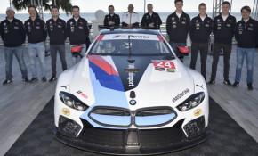 2018 BMW M8 GTE race car