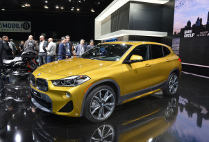 2018 BMW X2, 2018 Detroit auto show