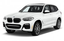 2018 BMW X3 xDrive30i Sports Activity Vehicle Angular Front Exterior View