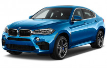 2018 BMW X6 M Sports Activity Coupe Angular Front Exterior View