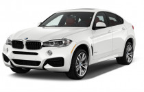 2018 BMW X6 xDrive35i Sports Activity Coupe Angular Front Exterior View