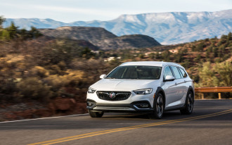 2018 Buick Regal TourX first drive: slightly rugged, very muddy