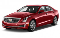 2018 Cadillac ATS Sedan 4-door Sedan 3.6L Premium Performance RWD Angular Front Exterior View