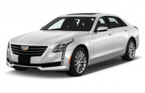 2018 Cadillac CT6 Sedan 4-door Sedan 2.0L Turbo Luxury RWD Angular Front Exterior View