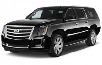 2018 Cadillac Escalade ESV 2WD 4-door Luxury Angular Front Exterior View