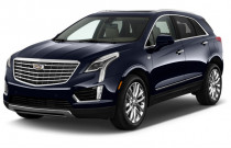 2018 Cadillac XT5 Crossover AWD 4-door Platinum Angular Front Exterior View