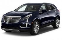 2018 Cadillac XT5 Crossover AWD 4-door Platinum Angular Front Exterior View