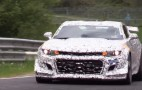 New Chevrolet Camaro Z/28 prototype returns to the 'Ring