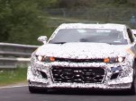 2018 Chevrolet Camaro Z/28 prototype at the Nürburgring