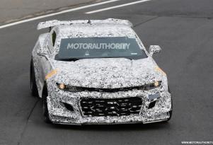 2018 Chevrolet Camaro Z/28 spy shots - Image via S. Baldauf/SB-Medien