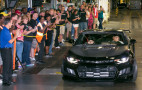 Rick Hendrick takes delivery of the first 2018 Chevy Camaro ZL1 1LE