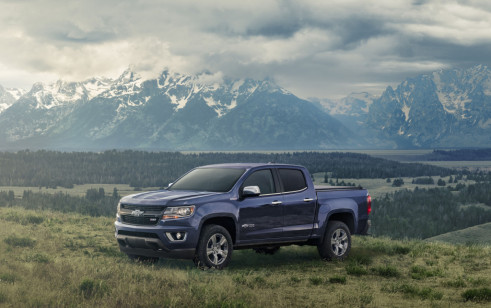2018 Chevrolet Colorado Vs Chevrolet Silverado 1500 Gmc Canyon