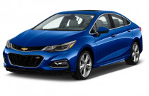 2018 Chevrolet Cruze 4-door Sedan 1.4L Premier w/1SF Angular Front Exterior View