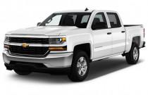"2018 Chevrolet Silverado 1500 4WD Crew Cab 143.5"" LS Angular Front Exterior View"