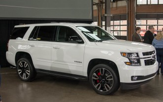 Chevrolet adds muscle to Tahoe, Suburban with new RST package