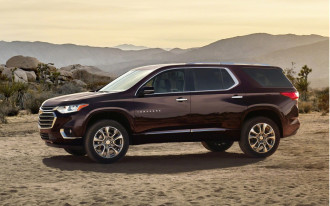 2018 Chevrolet Traverse starts at $30,875, tops out above $53,000