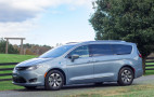 Green Car Reports Best Car To Buy 2018: Chrysler Pacifica Hybrid plug-in minivan