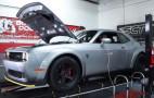 2018 Dodge Challenger SRT Demon gets strapped to the dyno