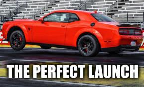 Dodge Challenger Demon torque reserve and transbrake explained