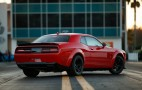 2018 Dodge Challenger SRT Demon's drag radials are too wide for production line