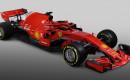 2018 Ferrari SF71H Formula 1 race car