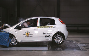 2018 Fiat Punto fails Euro NCAP crash test