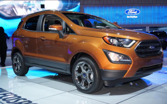 2018 Ford EcoSport crossover SUV scores concerning three-star government rollover rating
